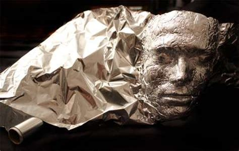 how to make a boat level out tinfoil self portraits dominic wilcox mask