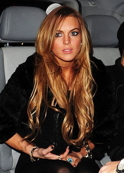 lindsay lohan middle parting fringe images 1000 ideas about face framing hair on pinterest face