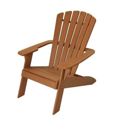 lifetime simulated wood adirondack patio chair 60064 at