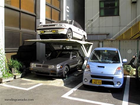 Simple House With Floor Plan the art of parking tokyo style japangasm