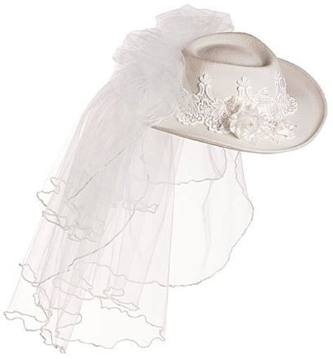 wedding cowboy hats with veils bridal hats tag hats