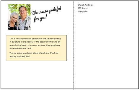 church volunteer card template volunteer and templates effective church