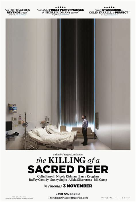 the killing of a sacred deer the killing of a sacred deer book tickets at cineworld