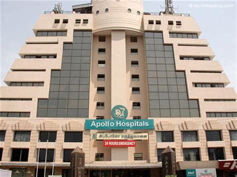 Mba Health Service Management Apollo Chennai by Hospitals In Chennai Government Hospitals In Chennai