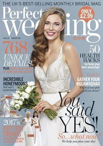 Perfect Wedding Magazine   February 2017 Subscriptions