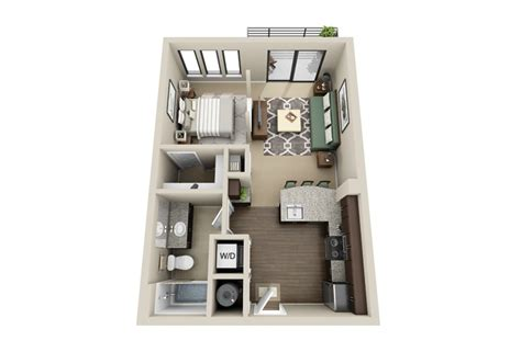 studio apt floor plan studio apartment floor plans