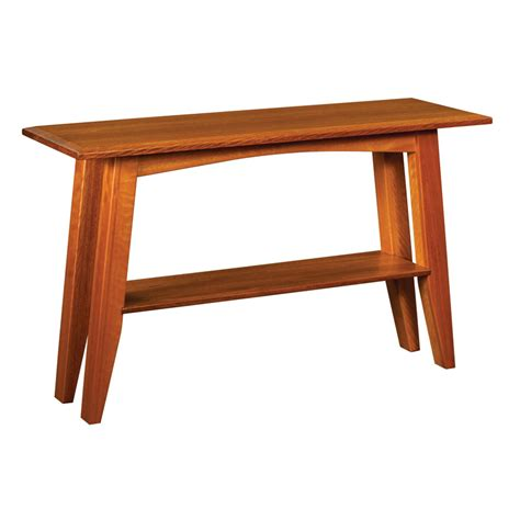 Table Sofa by Amish Sofa Tables Amish Furniture Shipshewana Furniture Co