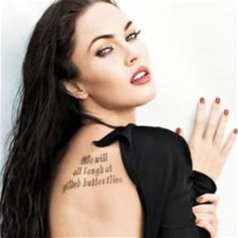 celeb rage rage of tattoos around hollywood designerzcentral blog