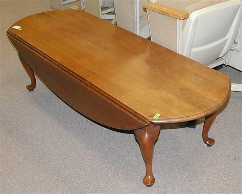 Drop Leaf Coffee Table Henkel Harris Cherry Drop Leaf Coffee Table