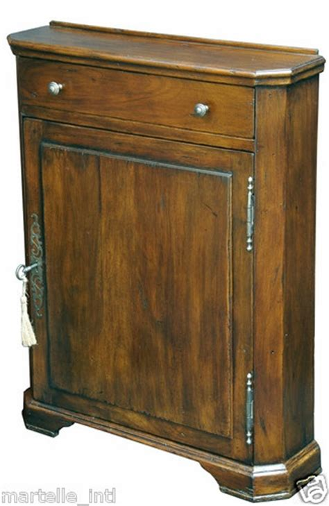 Shallow Depth Armoire Narrow Walnut Cabinet 7 Quot Depth 2 Adjustable