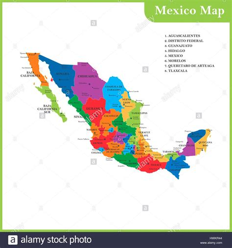 map of mexico and capitals map of mexico and capitals world maps
