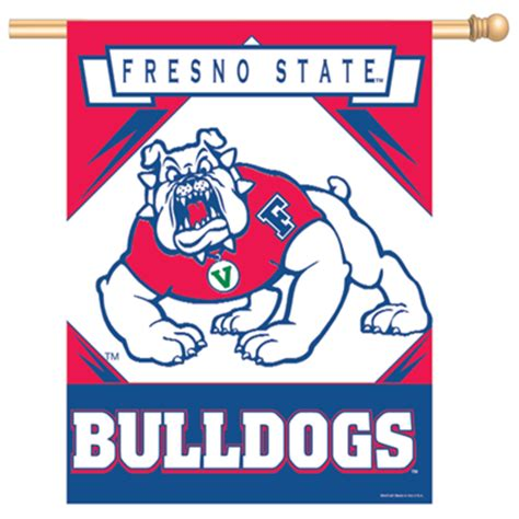 fresno state colors fresno state banner vertical flag 27 quot x 37 quot