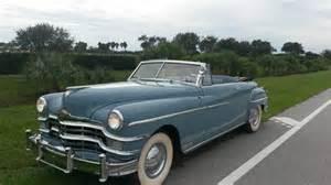 1949 Chrysler For Sale 1949 Chrysler New Yorker Convertible For Sale