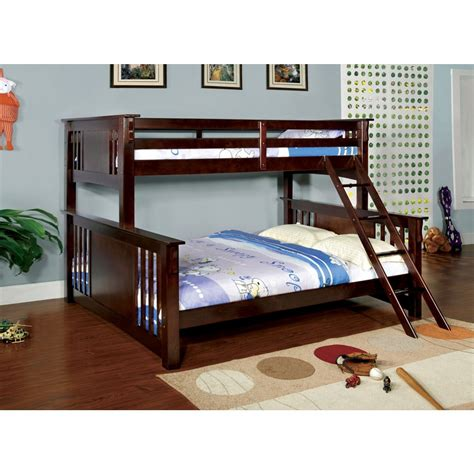 extra large twin bed spring creek dark walnut extra large twin over queen bunk