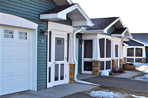 Cottage Kitchens Designs by Senior Living Duplexes In Hudson Wisconsin Duplex Homes