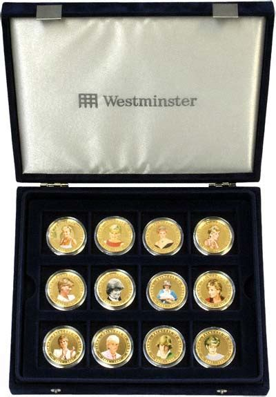 Dinna Set diana princess of wales photographic coin collection