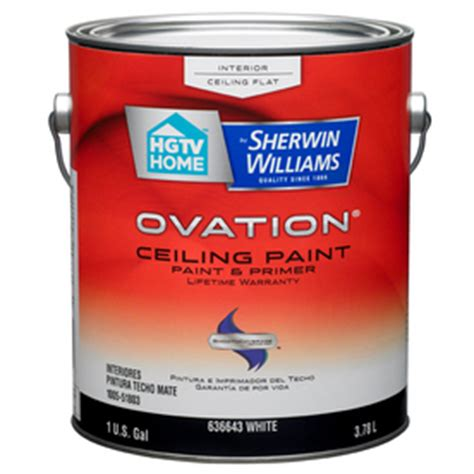 Sherwin Williams Ceiling Paint Reviews by Shop Hgtv Home By Sherwin Williams Ovation Interior Flat