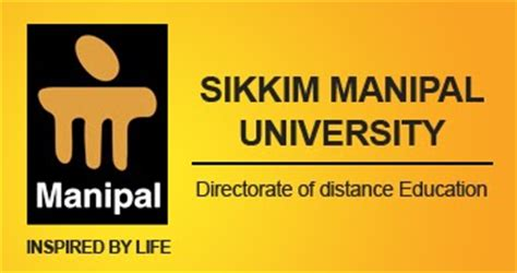 Manipal For Mba 2016 by Sikkim Manipal Distance Education Mba Admission