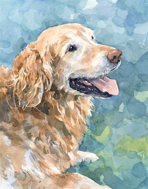 golden retriever watercolor the 25 best golden retriever ideas on origin of dogs pet and