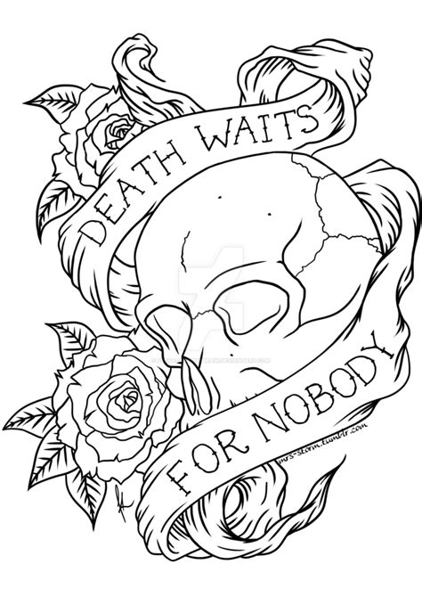 chest tattoo designs drawings waits for nobody by freyacrayonsbrain on deviantart