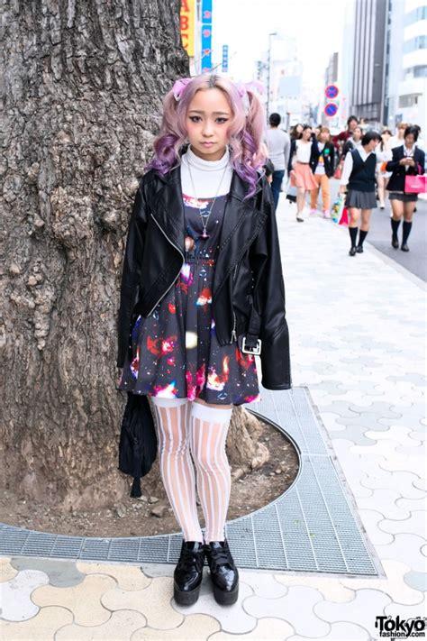 Wig Cowok Korea Harajuku 04 kawaii harajuku style w pink twintails space dress