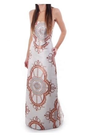 Versaille Roses Maxi ted baker womens ted baker womens racheel meadow print coat baby blue ted baker womens