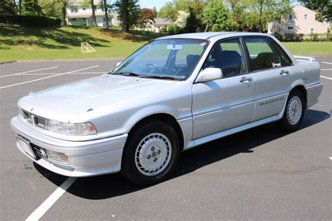 how cars run 1989 mitsubishi galant parking system 100 stock rhd 65k mile 1989 mitsubishi galant vr4 bring a trailer