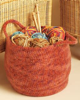 crochet pattern yarn holder ravelry stash basket pattern by bernat design studio