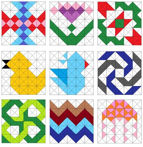 pattern ne demektir 1000 images about half square triangle quilts on