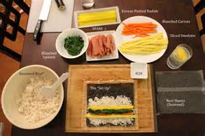 how to make kimbap dohyun kim iei 300a writing blog