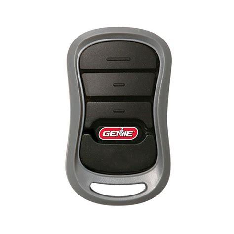 genie intellicode  standard  button remote