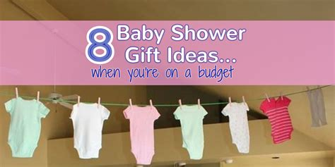 Inexpensive Baby Shower Ideas by 8 Affordable Cheap Baby Shower Gift Ideas For Those On A