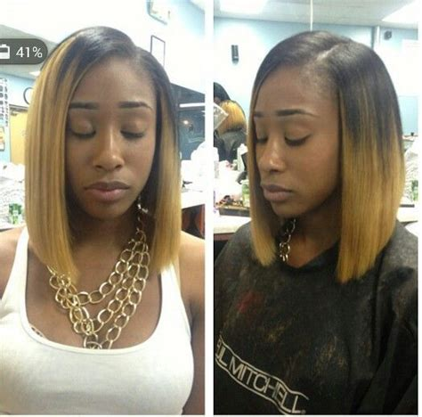 ombre highlights for african americans short ombre blonde brazilian bob wig cheap beyonce