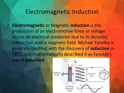 electromagnetic induction is the process of producing electromagnetic induction is the process of producing 28 images electromagnetic induction