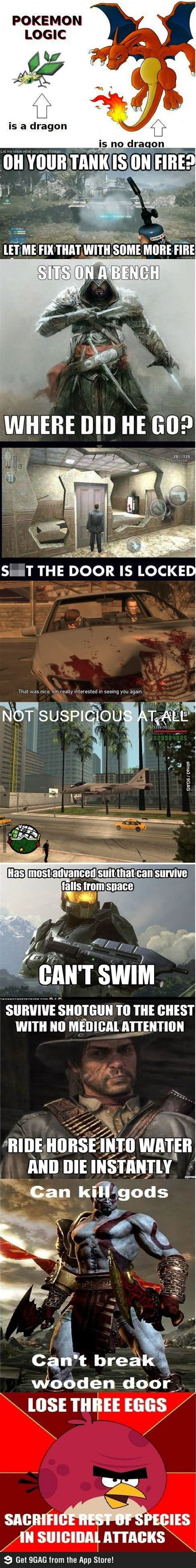 Video Game Logic Meme - 18 best console gaming images on pinterest video games