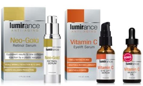 Serum Vitamin C Gold lumirance neo gold retinol serum vitamin c eye lift with fashion design style