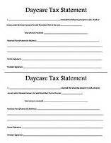Receipt For Daycare Services Year End Statement Template by 25 Best Images About On Day Care