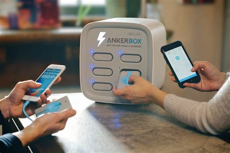 AnkerBox bringing rentable device chargers to hundreds of Seattle restaurants, bars and coffee
