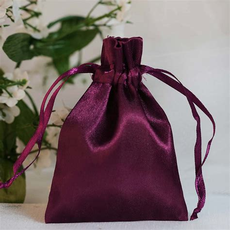 String Bag Sb 02 3x3 5 quot satin bags with pull string wedding gift favors pouches wholesale ebay