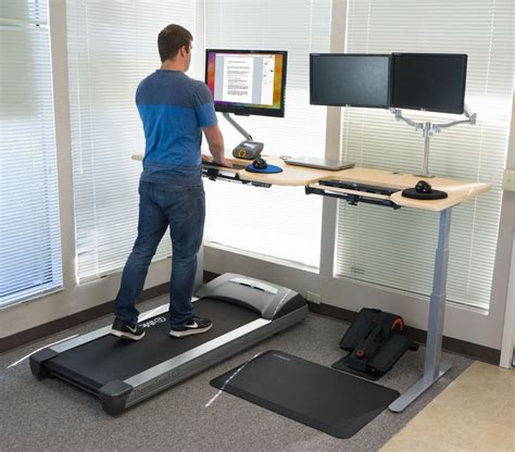 stand up desk exercises deskcycle under desk bike review
