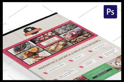 advertising magazine template cake flyer magazine ad template flyer templates