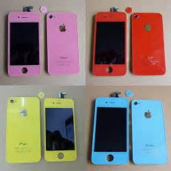 colored iphones iphone 4 broadens its color palette