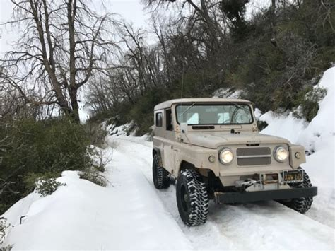 1968 nissan patrol 1968 nissan patrol kl60 hardtop 4 0l original california