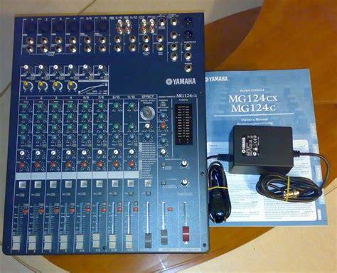 Diskon Mixer Yamaha Mg124cx yamaha mg124cx image 18024 audiofanzine