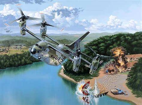 Transformer Heli Kw us v 22 osprey tiltrotor aircraft