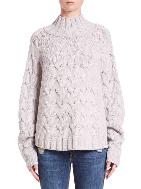 Batwing Sweater 360cashmere victory batwing sweater in pink lyst