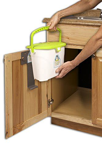 sink compost bin kitchen compost caddy sink mounted compost system