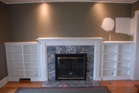 pin by jill decastro on fireplace built ins stone pinterest built ins around fireplace home decorating ideas pinterest