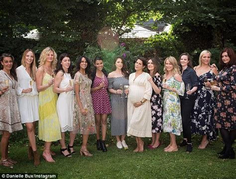 Pregnant Danielle Bux Flaunts Her Baby Bump At Baby Shower