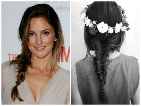the triple braided bun with flower crown hairstyle design page 4 of 5 messy updo hairstyle idea s for medium length or long